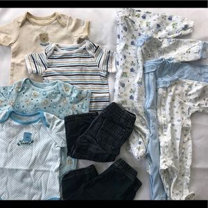 Lot of 10 Baby Boy 3-6 Months